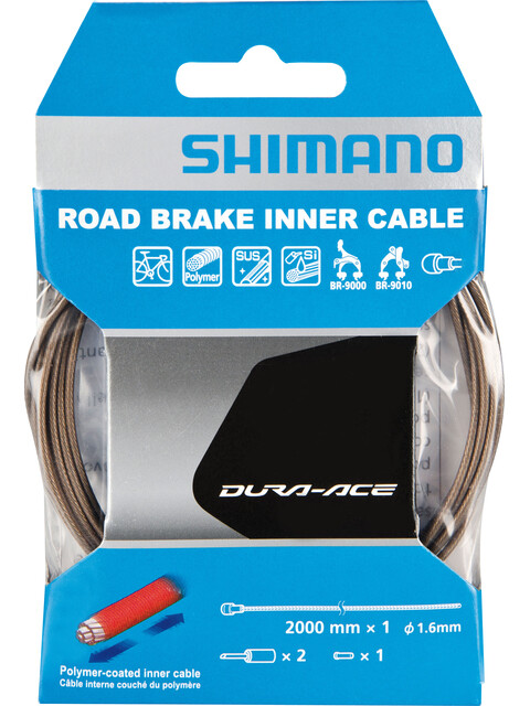 Shimano Dura-Ace BC-9000 Brake Cable coated polymer gold